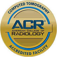 Computed Tomography, ACR Advanced College of Radiology, Accredited Facility