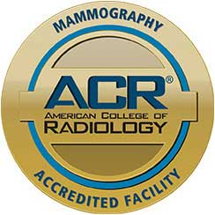 Mammography, ACR Advanced College of Radiology, Accredited Facility