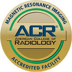 Magnetic Resonance Imaging, ACR Advanced College of Radiology, Accredited Facility