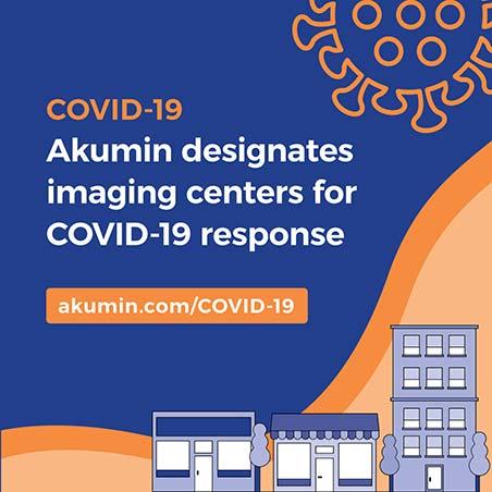 Akumin designates imaging centers for COVID-19 response