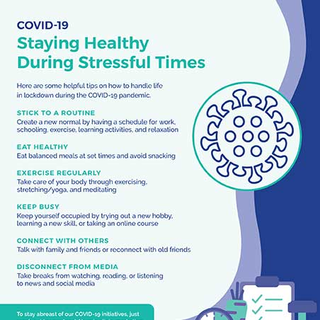 Staying Healthy During Stressful Times