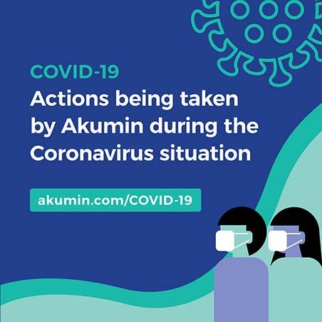 Akumin's actions during the Coronavirus situation